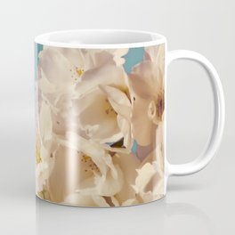 Vintage Aqua Sakura Coffee Mug