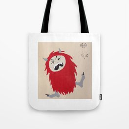 Little Monsters - Bad Monster Tote Bag