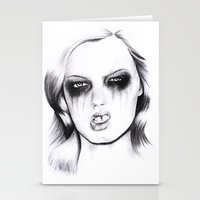 metal Stationery Cards featuring Metal. by Rosalie Kate.