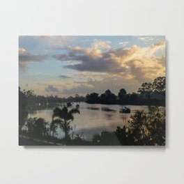 Morning on the Mary - Maryborough QLD Metal Print