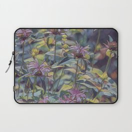Abstract Thistle Laptop Sleeve