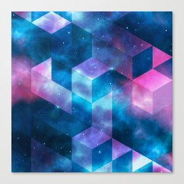 Geometrical shapes Canvas Print