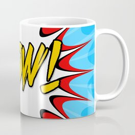 Cartoon POW! Coffee Mug