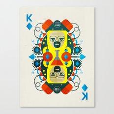 Heisenberg fan art Canvas Print
