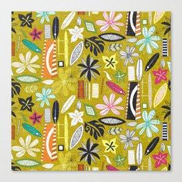 beachy yellow Canvas Print