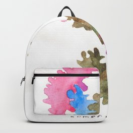 Matisse Inspired | Becoming Series || Compartmentalised Backpack