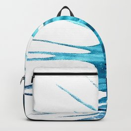 Betta Fin Blue Fish Tail Backpack