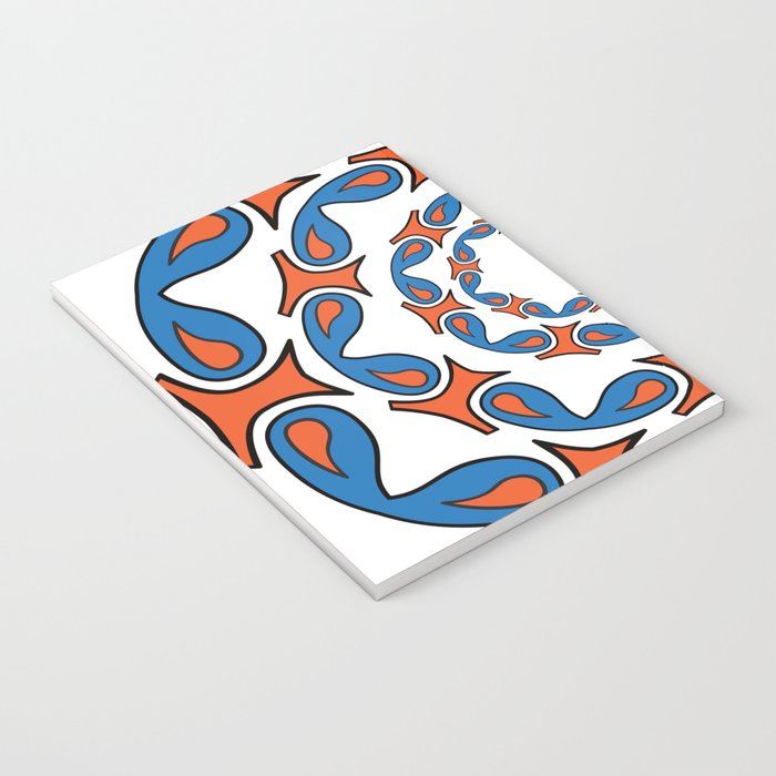 abstract mandala tribal Notebook