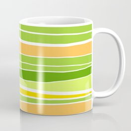 Spring Stripes Abstract Coffee Mug