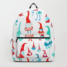 Tomte, nisse, tonttu, scandinavian gnomes Backpack
