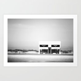 Marfa in the Wind Art Print