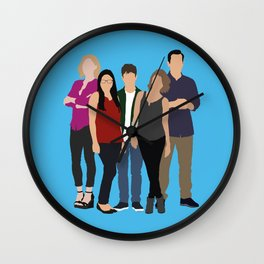 The Dunphy Family Wall Clock
