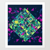 XStripe Art Print
