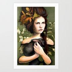 The Night Omen Art Print