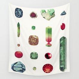 Precious Stones Wall Tapestry