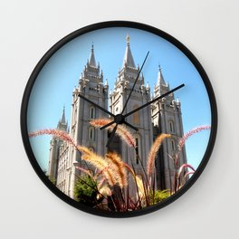 Salt Lake Temple Wall Clock