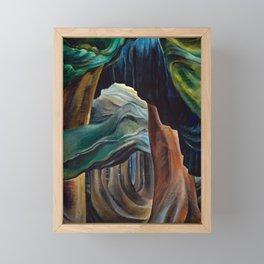 Forest by Emily Carr Framed Mini Art Print