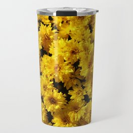 Golden Mums Travel Mug
