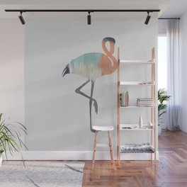 Pastel Flamingo Wall Mural