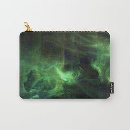 Ghostly Green Smoke Carry-All Pouch
