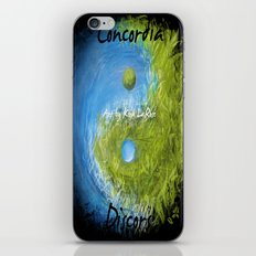 Concordia Discors II iPhone & iPod Skin