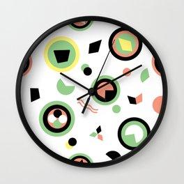 Circles and shapes can very be interesting Wall Clock