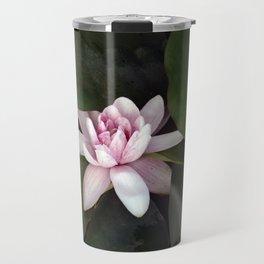 Beautiful Lotus Flower Travel Mug