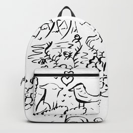 Odd Couple, The Fox and Crow Backpack
