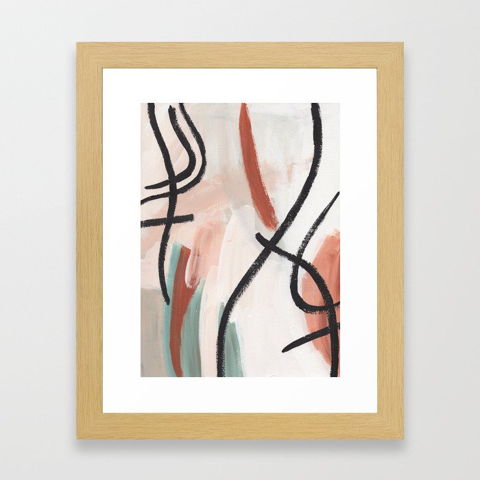 Needle in the Hay Framed Art Print