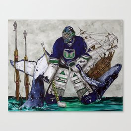 BURKE Canvas Print