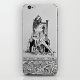 Goddess Hel iPhone Skin