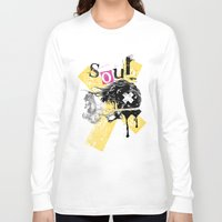 soul Long Sleeve T-shirts featuring Soul by Tshirt-Factory