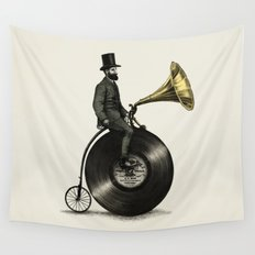 Music Man Wall Tapestry