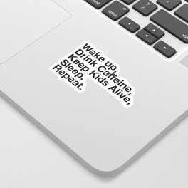 Keep them Alive. Sticker