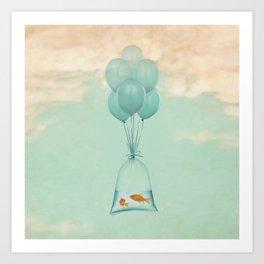 Flight to Freedom (RM) Art Print