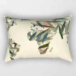 Word Nature Rectangular Pillow