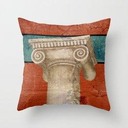 Pillar of Rome Throw Pillow