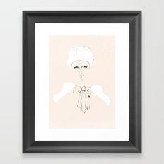 Bobbie Framed Art Print