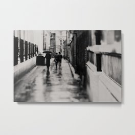 on the streets of Cambridge ... Metal Print