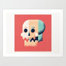 Things to smile about... Art Print