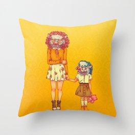TIMIDES Throw Pillow