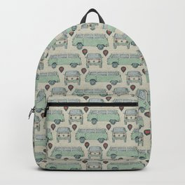 On My Way To Everywhere Pattern Backpack