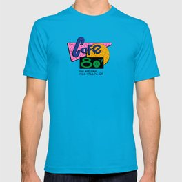 BACK TO THE FUTURE - Cafe 80's T-shirt