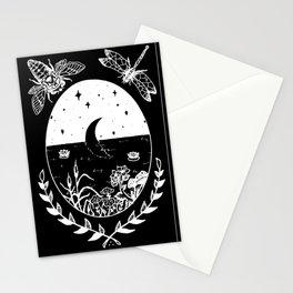 Moon River Marsh Illustration Invert Stationery Cards