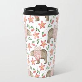 bear pattern (6) Travel Mug
