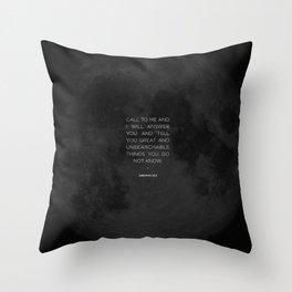 Call To Me Throw Pillow