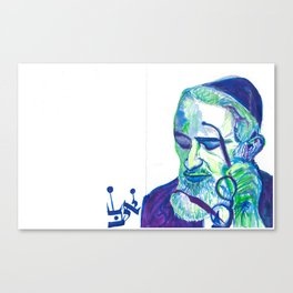 """The Rav"" Canvas Print"