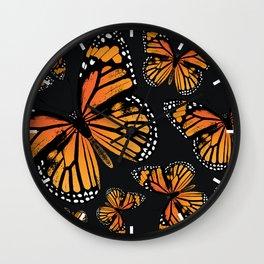 Monarch Butterflies | Monarch Butterfly | Vintage Butterflies | Butterfly Patterns | Wall Clock