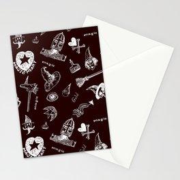 Magic symbols Stationery Cards