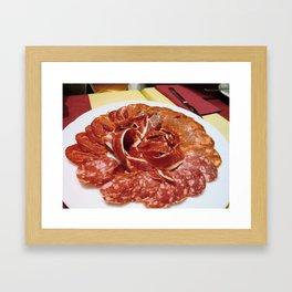 Jamon  Framed Art Print